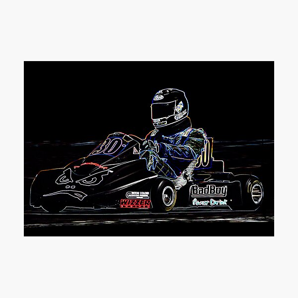 Karting  Photographic Print
