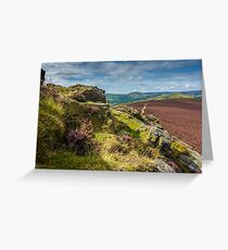 Win Hill View Greeting Card