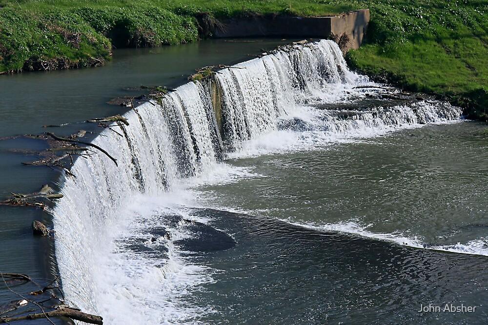 Hanover Falls by John Absher