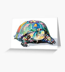 The Candy Turtle Greeting Card