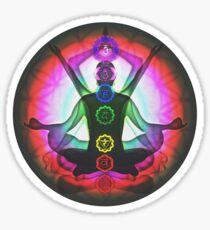 Meditation & the Chakras II Sticker