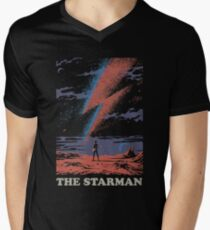 The Starman Men's V-Neck T-Shirt