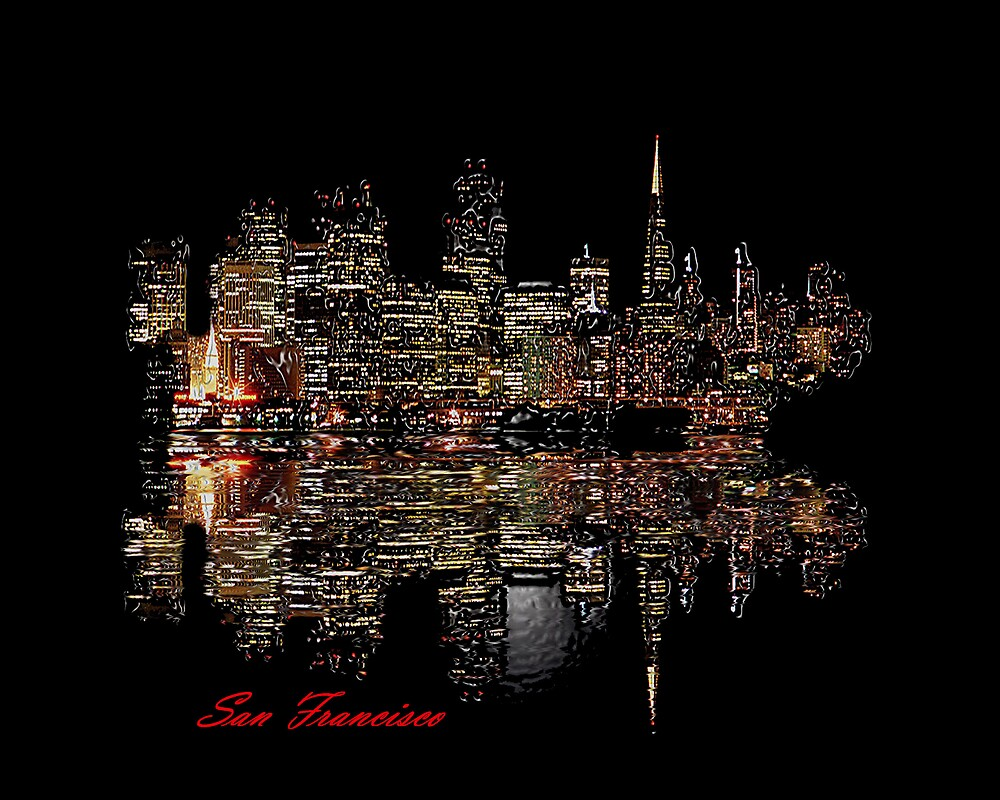 San Francisco by Dennis Begnoche Jr.