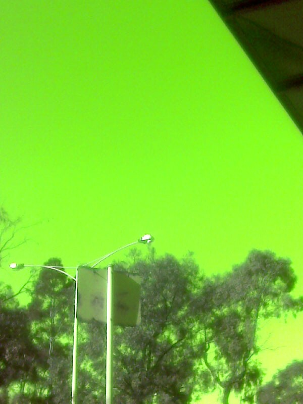 Green sky by Wakethewatchman