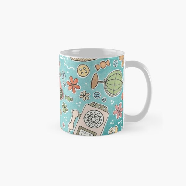 These are all of my vintage favorite things! Classic Mug