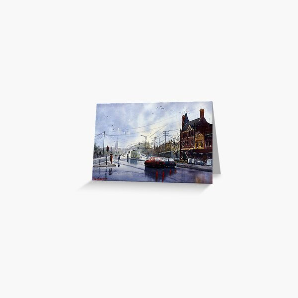 Clifton Hill, Melbourne Greeting Card