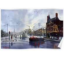 Clifton Hill, Melbourne Poster