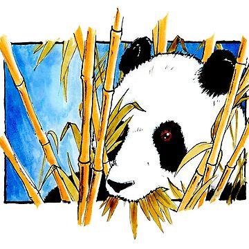 Shy  Panda by segosha