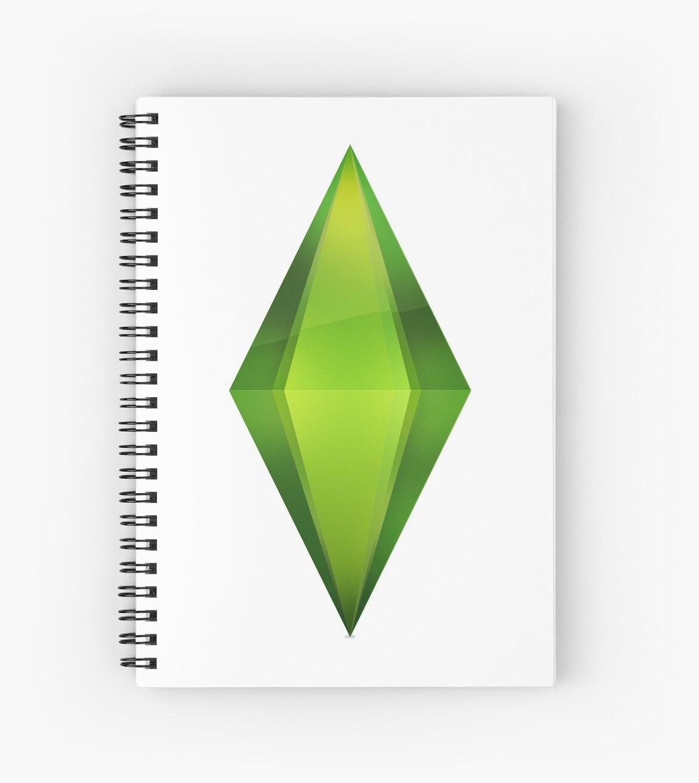 Cuadernos de espiral «Diamante verde en el cielo» de tokyolove ...