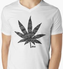 Chronic Leaf V-Neck T-Shirt