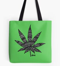 Chronic Leaf Tote Bag