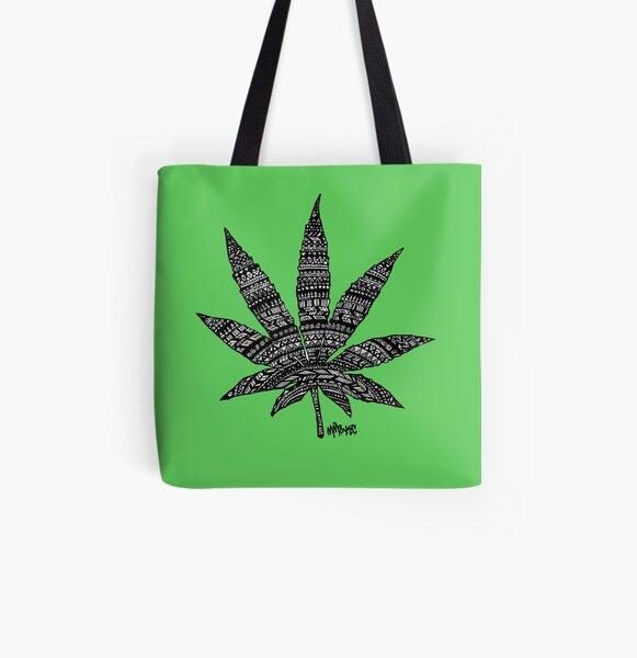 Chronic Leaf All Over Print Tote Bag