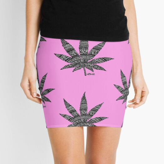 Chronic Leaf Mini Skirt