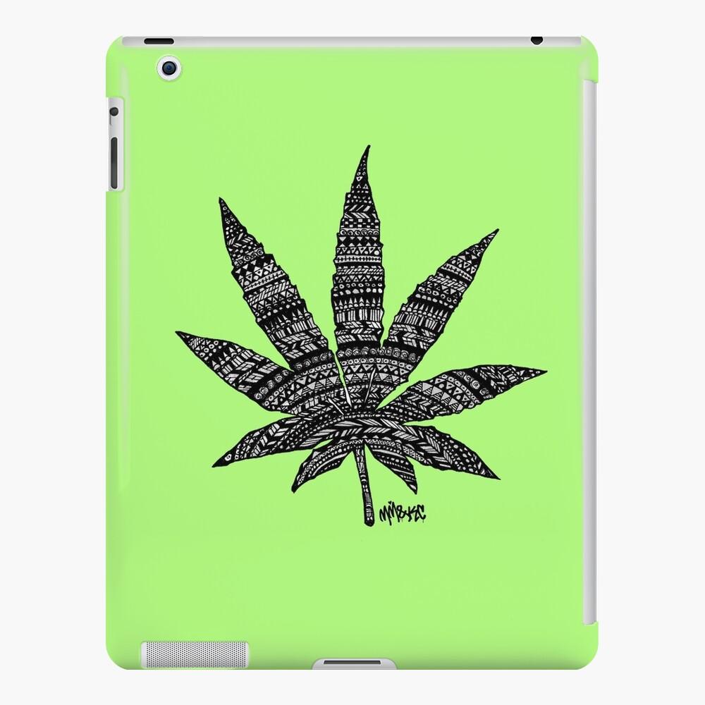 Chronic Leaf iPad Case & Skin