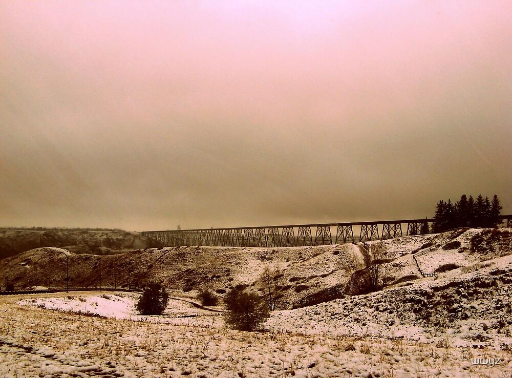 November Snow Scene by wwyz