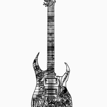 n.y.c guitar by geneticthreat