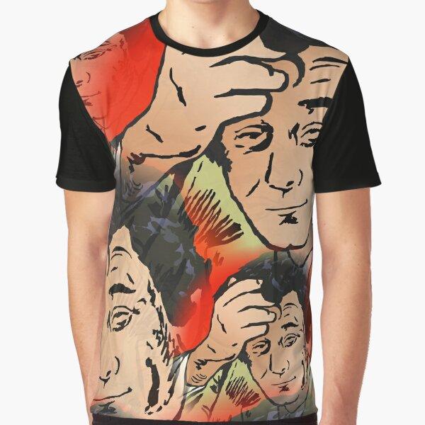 Detective Columbo Thinking Graphic T-Shirt