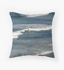 Queensland Australia Beach Throw Pillow