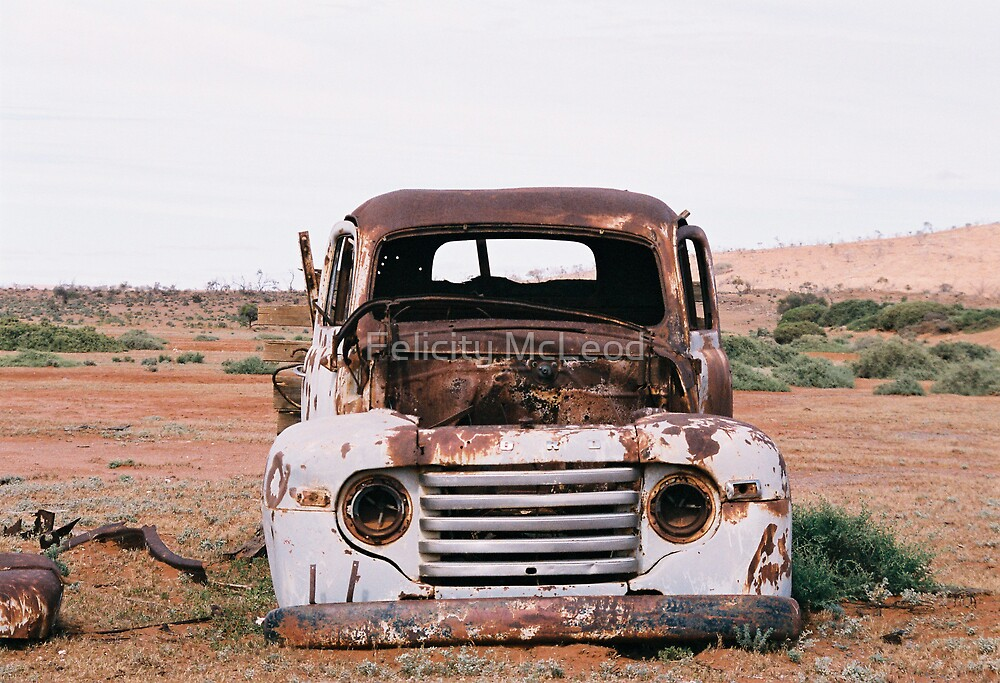 Ford Pickup by Felicity McLeod