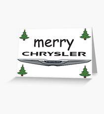 Chrysler Car Greeting Cards Redbubble
