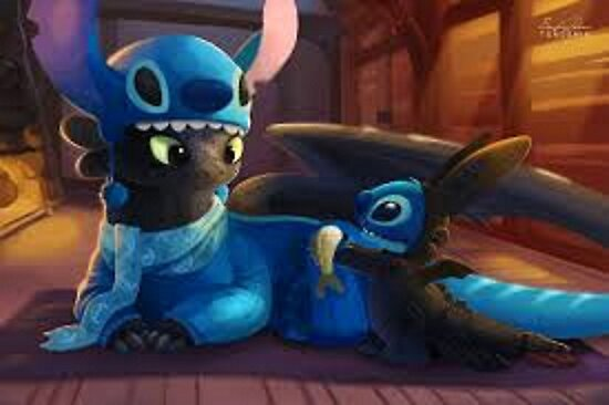 toothless&stitch by the-last-dragon