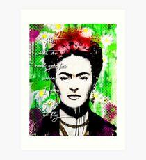 Lámina artística Frida Kahlo Wings