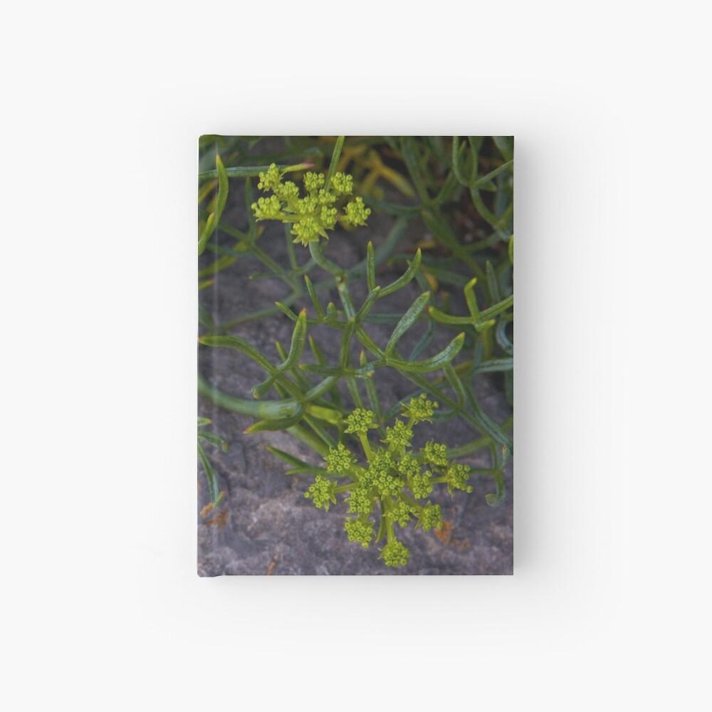 Rock Samphire, Inishmore, Aran Islands Hardcover Journal