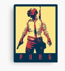 PUBG (PlayerUnknown's Battlegrounds) Political  Canvas Print
