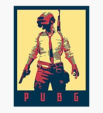 PUBG (PlayerUnknown's Battlegrounds) Political  Photographic Print