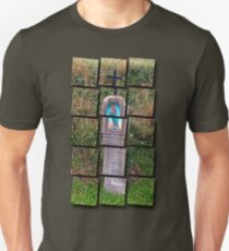 Traditional christian wayside cross | architectural photography T-Shirt