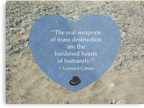 'Hardened Hearts' Metal Print by shotsfromthehip