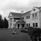 Hope Lodge in Black and White by WeeZie