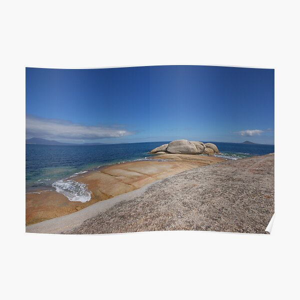 Towards the blue horizon Poster