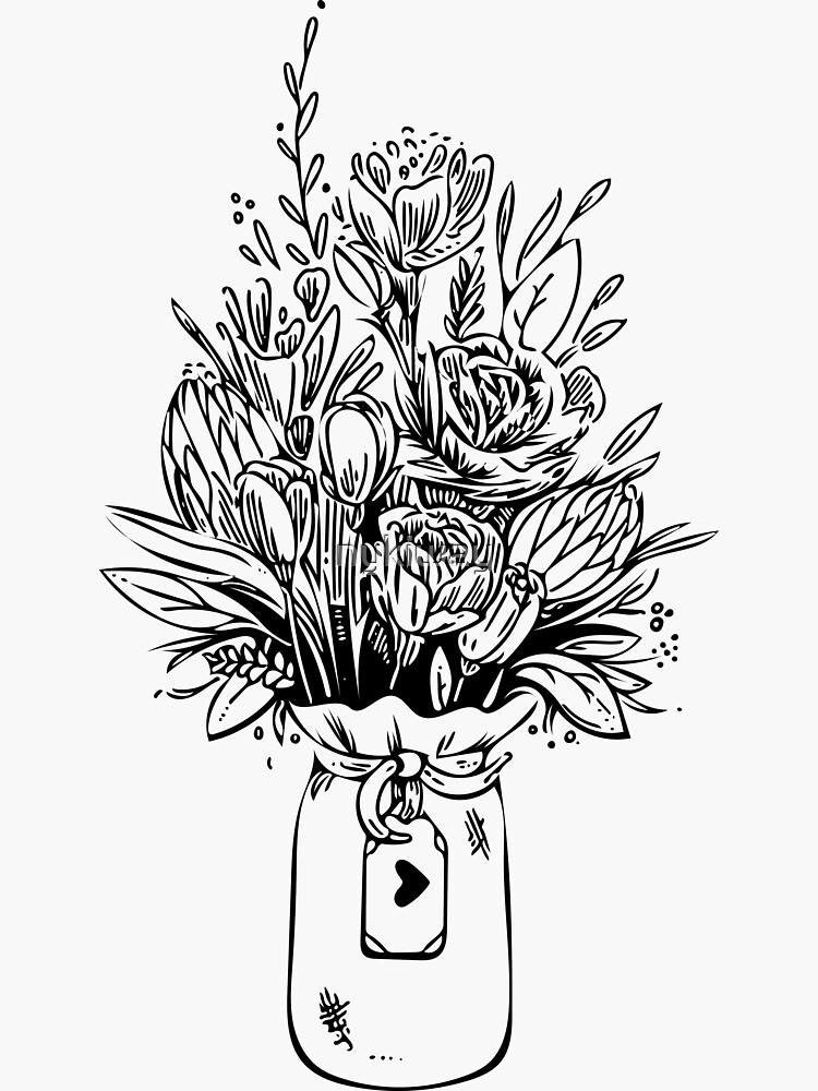 Bouquet of Flowers by nykiway