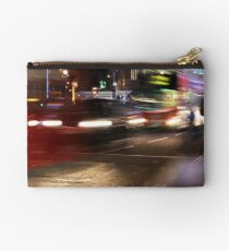 Evening Rush at Piccadilly Circus, London Studio Pouch