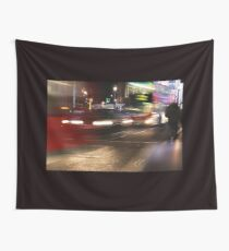 Evening Rush at Piccadilly Circus, London Wall Tapestry