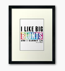 I Like Big Blunts and I Cannot Lie Framed Print