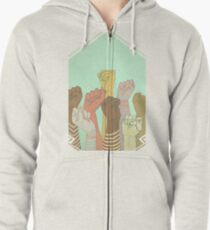 together Zipped Hoodie