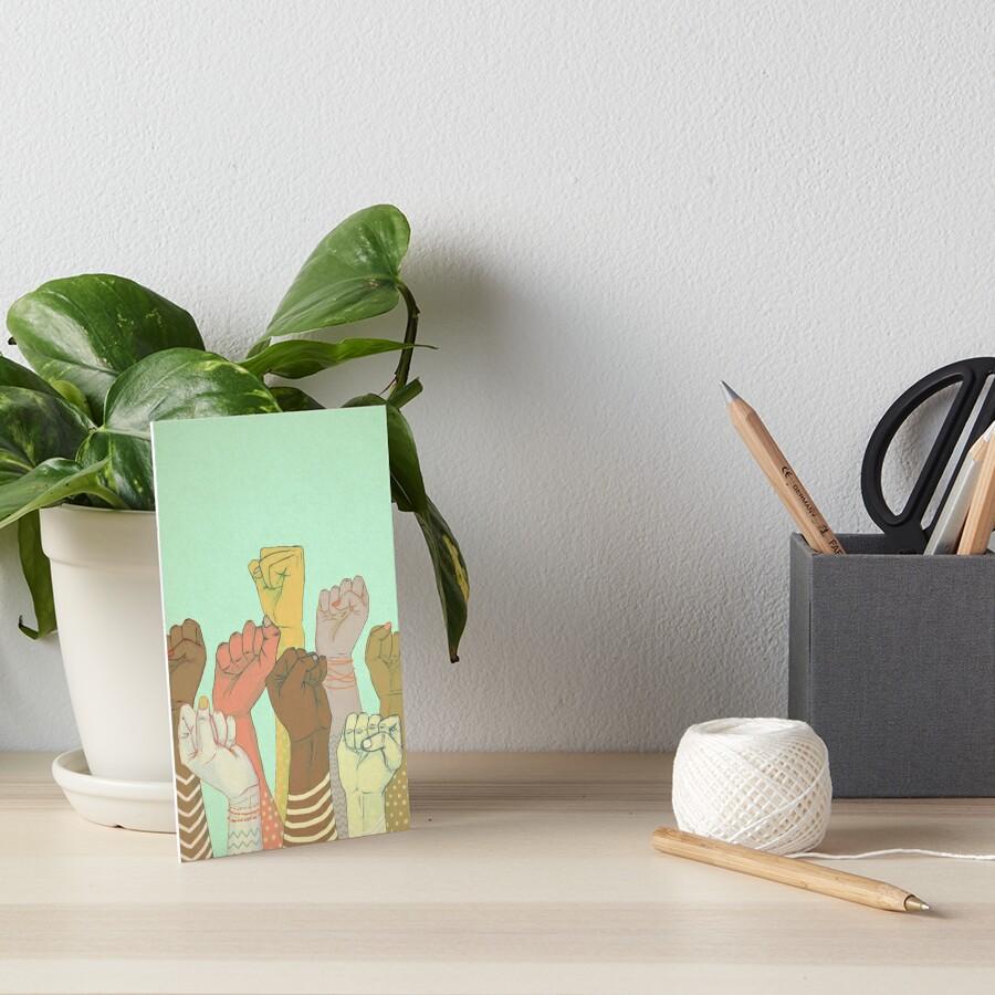 together Art Board Print