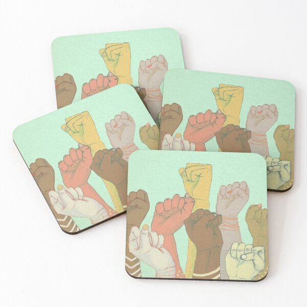 together Coasters (Set of 4)