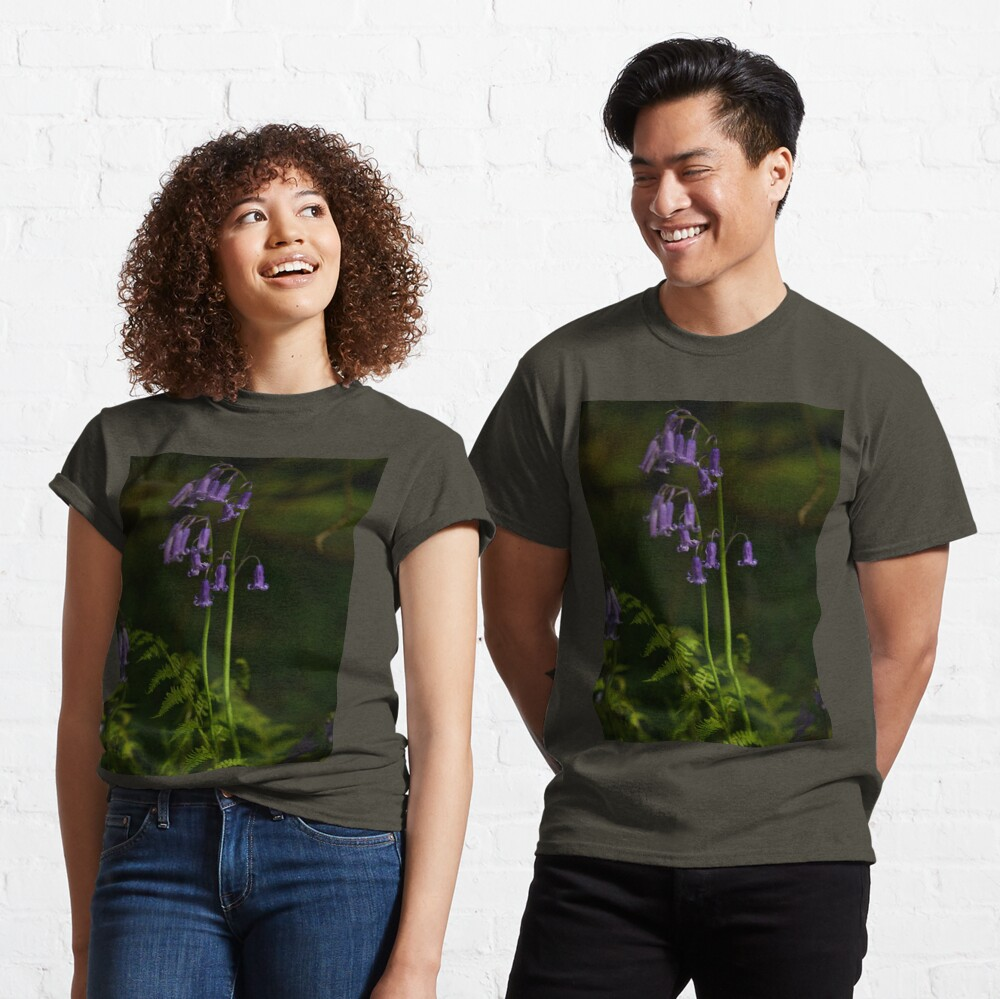 Two Bluebells in Prehen Woods, Derry Classic T-Shirt