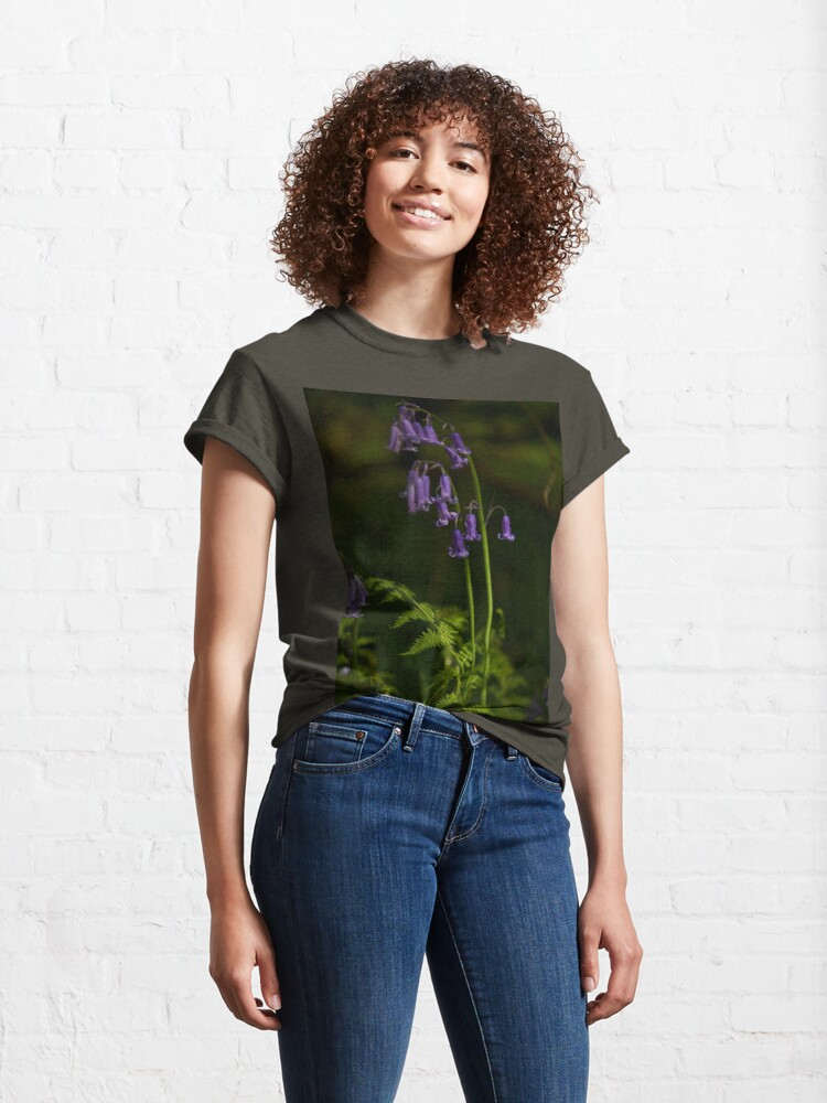 Alternate view of Two Bluebells in Prehen Woods, Derry Classic T-Shirt