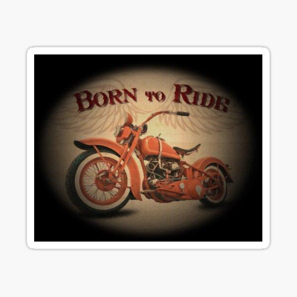 EM Born To Ride Sticker emborntoride-01 Vinyl Stickers