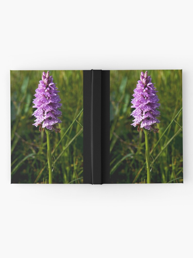 Alternate view of Spotted Orchid, Kilclooney, Donegal Hardcover Journal