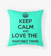 Ivan Martinez, Martinez Twins, Emilio Throw Pillow
