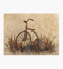The Old Trike Photographic Print