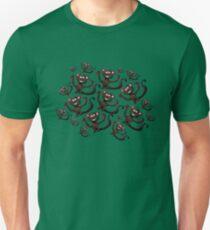 Tumbling Monkeys Unisex T-Shirt
