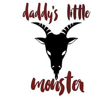 Daddy's Little Monster by paperbouquet