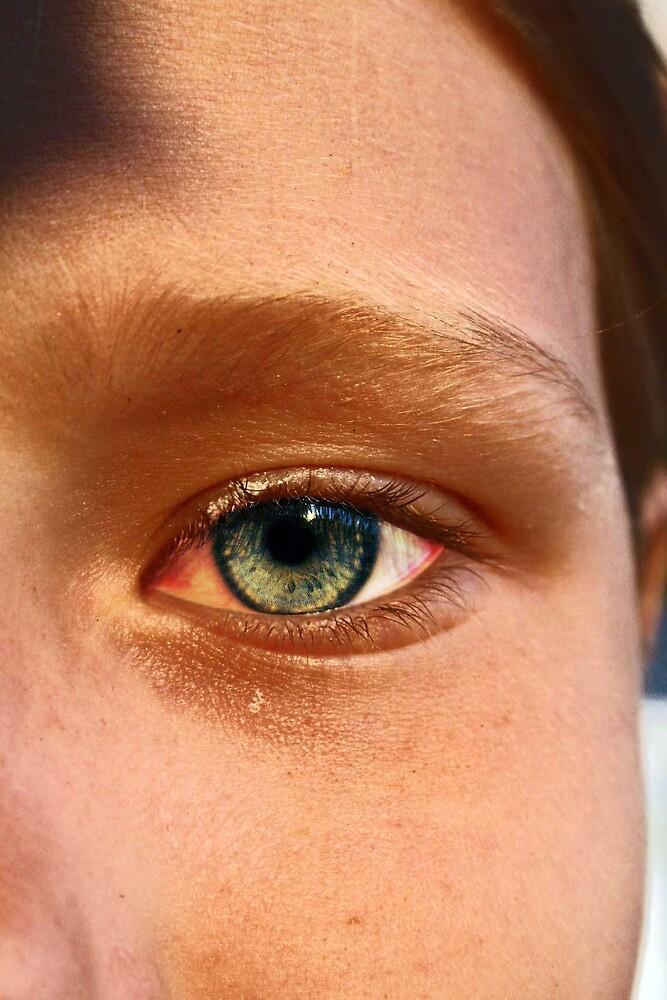 little girls eye by Kris Z