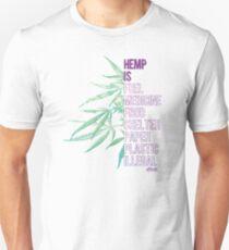 Hemp is Slim Fit T-Shirt